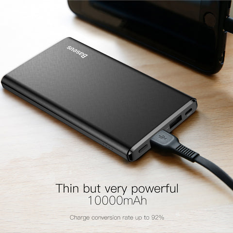 10000mAh iPhone Ultra Slim Powerbank Mobile Phone External Battery Charger - HypePercents