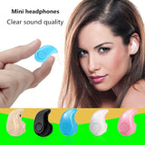 Wireless Invisible Bluetooth Mini Earphone Earbud Headset Headphone Support Hands-free Calling