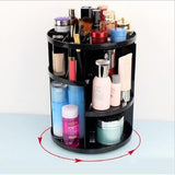 360-degree Rotating Makeup Organizer ⭐⭐⭐⭐⭐