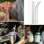 Stainless steel straws iridescence colors (ECO-FRIENDLY)