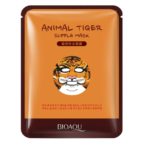 Animal Characters Printed Face Mask