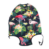 Tropical Pink Flamingo Suitcase Dust Cover (Protection for Suitcases)