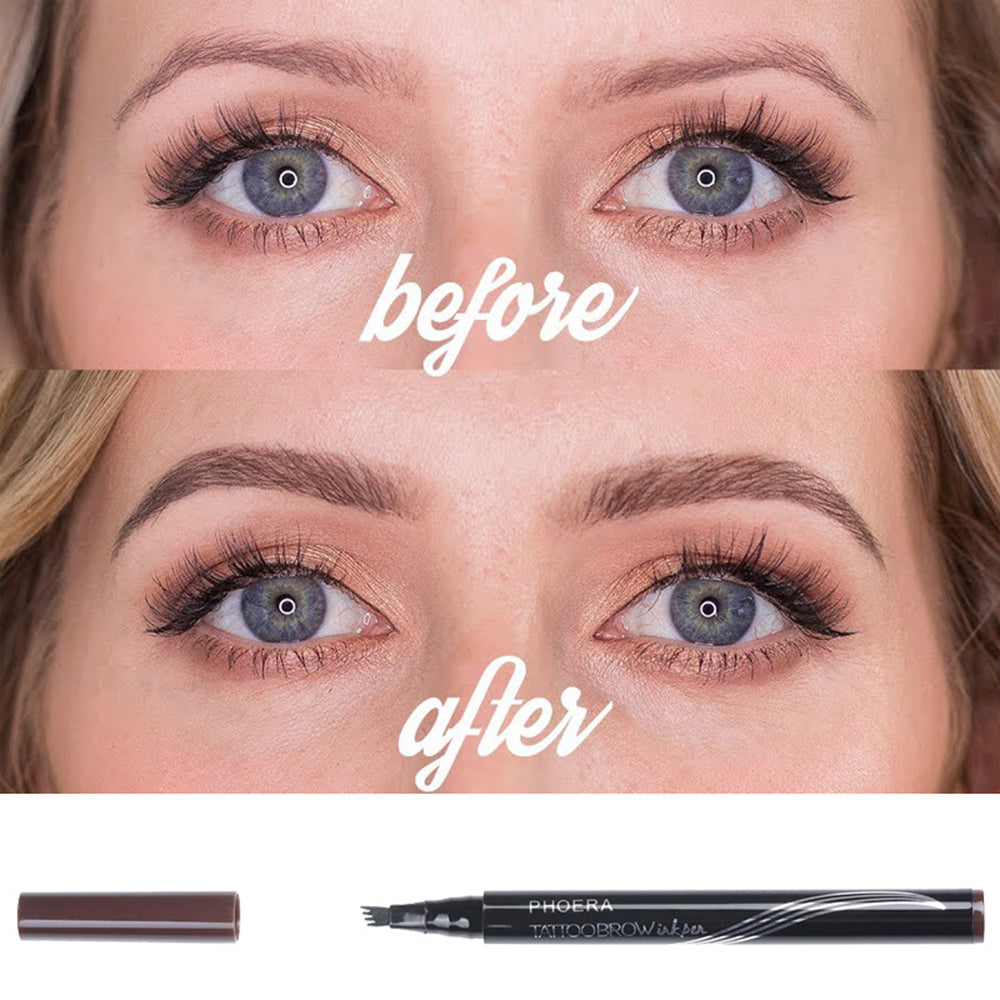 Eyebrow Tattoo Pen Long Lasting Microblade Strokes Theallmart