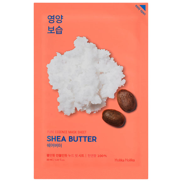 Holika Holika - Pure Essence Mask Sheet (Shea Butter)