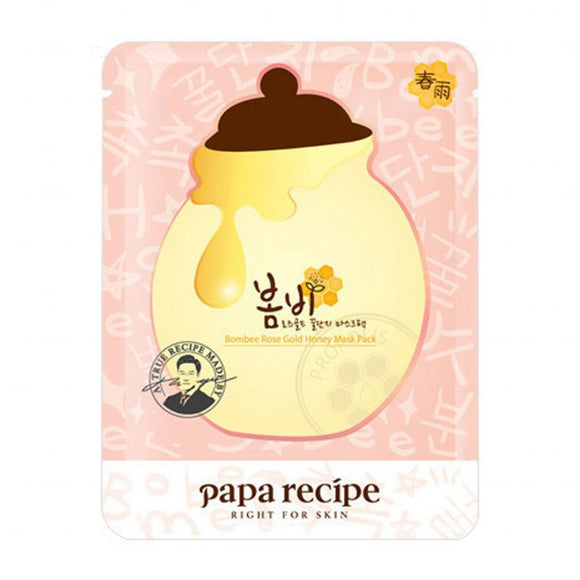 Papa Recipe Bombee Rose Gold Honey Sheet Mask