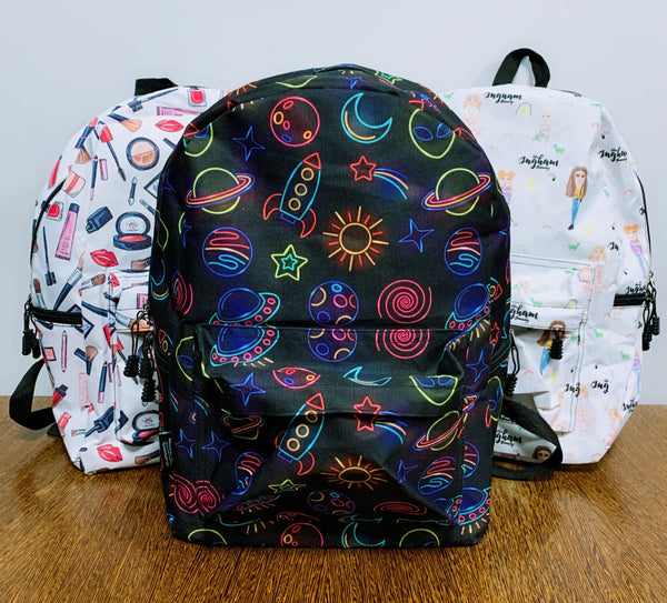Ingham Family Animation Back Pack