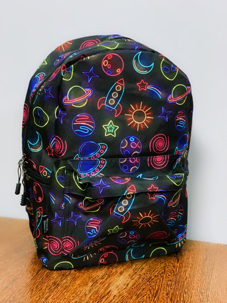 Neon Space Back Pack