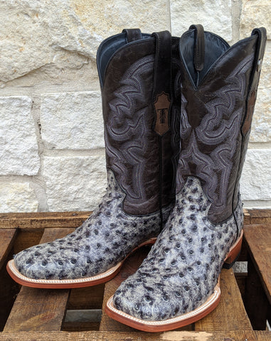 """Asher"" Full Quill Print Boot"