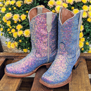 "**Kids** ""Ariel"" Blue Mermaid Boots"