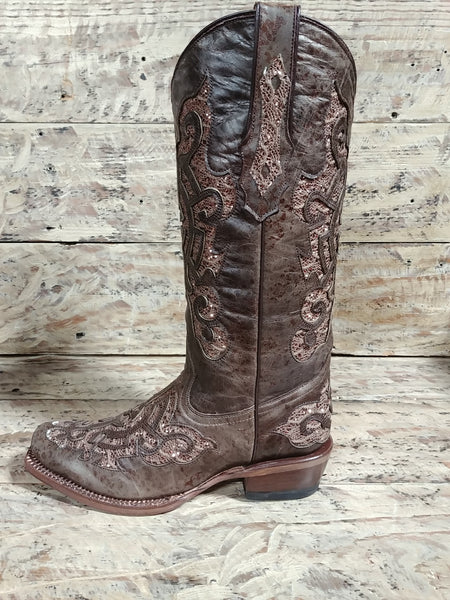 Tanner Mark TML43231 Ladies Brown Shimmer