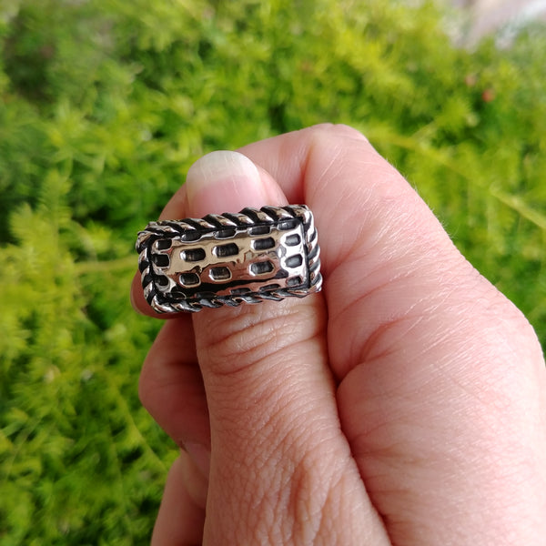 "Dian Malouf ""Dash Bar"" Stack Ring"