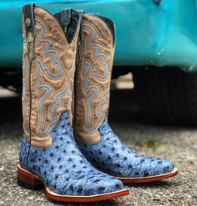 "Ladies ""Billie Jean"" Blue Print Boot"