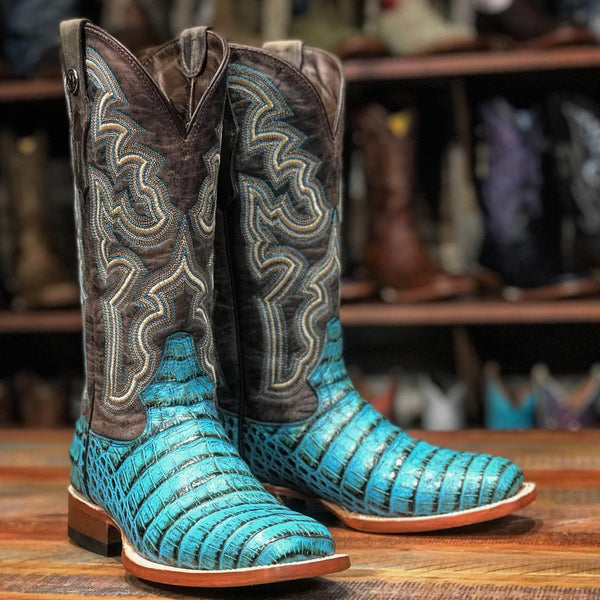 "Ladies ""Taryn"" Turquoise Print Boots"