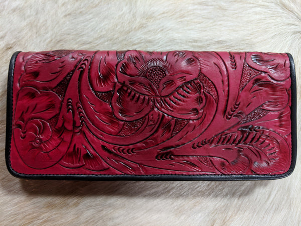 Juan Antonio Tooled Wallet (4-6 week production time)