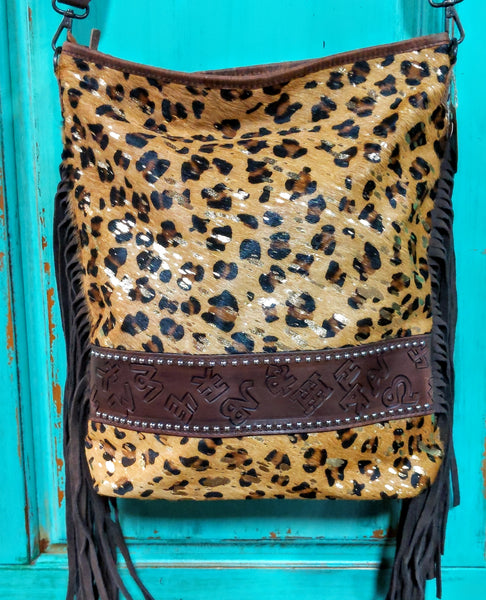 Brandi Leopard Tote *Concealed Carry*