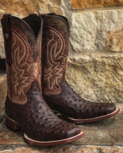 "Mens ""Zane"" Full Quill Print Boot"