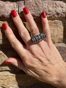 Dian Malouf 5 Crosses Ring