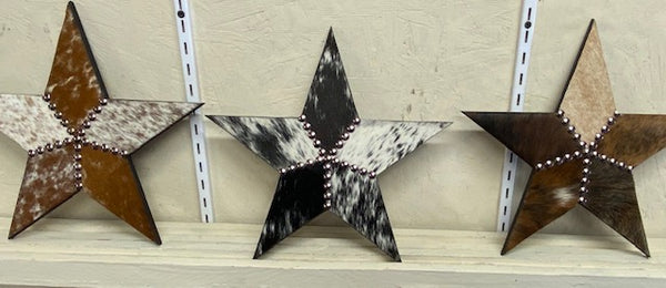 Custom Cowhide Star