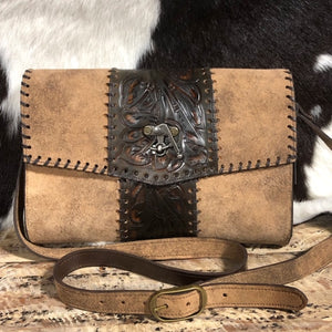 Juan Antonio Adobe Large Crossbody (4-6 week production time)