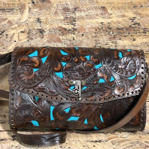 Juan Antonio Tooled Large Crossbody (4-6 week production time)