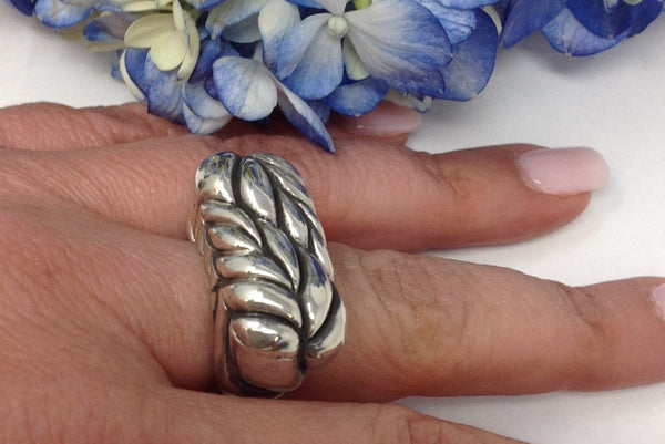 Dian Malouf Fern Ring