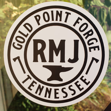 RMJ Gold Point Forge Vinyl Decal