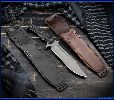 Combat Africa Leather Sheath
