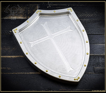 Shield & Cross Valet Tray