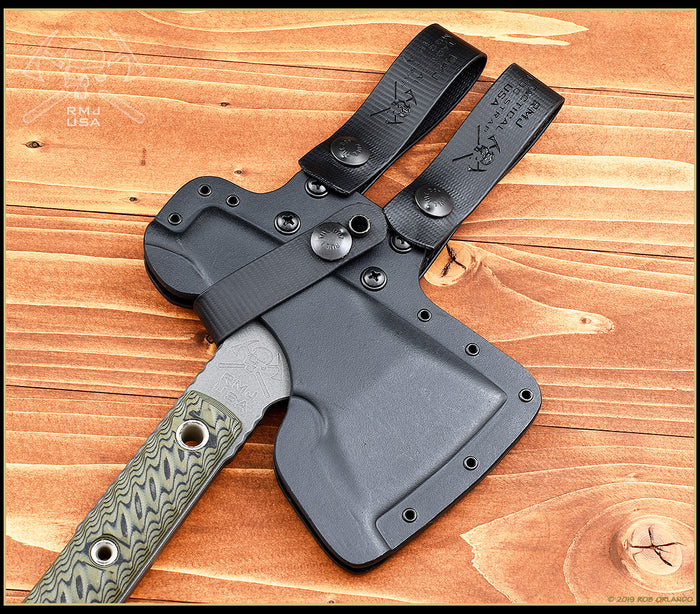 Kydex Scabbard for Mini Jenny and Jenny Wren Hammer Polls