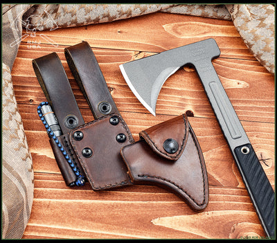 Kestrel Trail Leather Scabbard