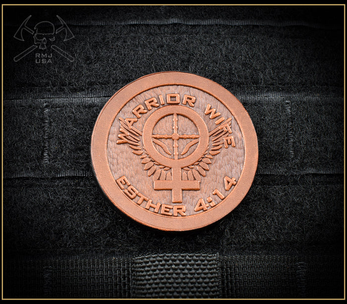 Warrior Wife Leather Patch
