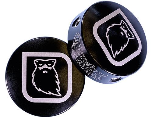 Redbeard Effects Barefoot Button - Black