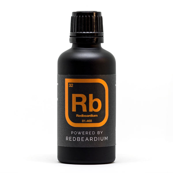 Powered By Redbeardium™ - Limited Edition Beard Oil 50ml