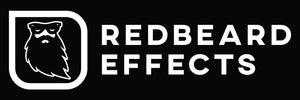 Redbeard Effects Logo Rectangular Sticker