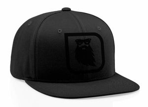 Redbeard Effects Icon Snapback Hat - Black