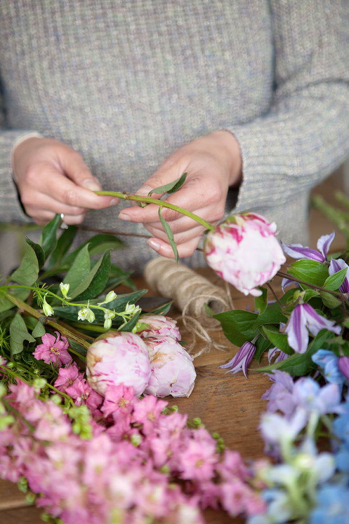 British Blooms Floristry Masterclass 10am - 12pm