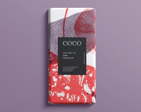 Coco Chocolatier Earl Grey Dark Chocolate