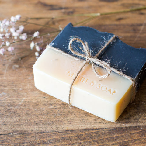 Natural soap NIGHT & DAY by Myrtle and Soap.