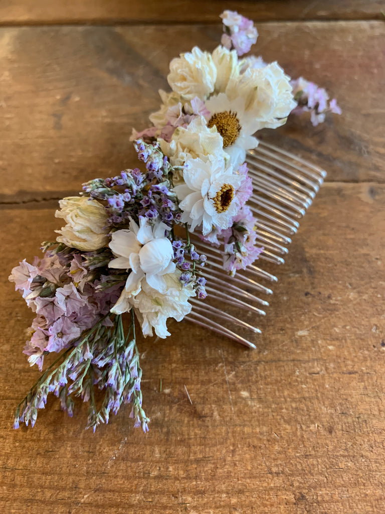 Wednesday Workshop: Making Floral Hair Accessories Wed 9th Oct 10am-12pm
