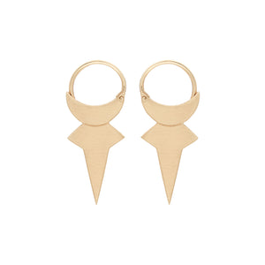 Luna Edge Earrings