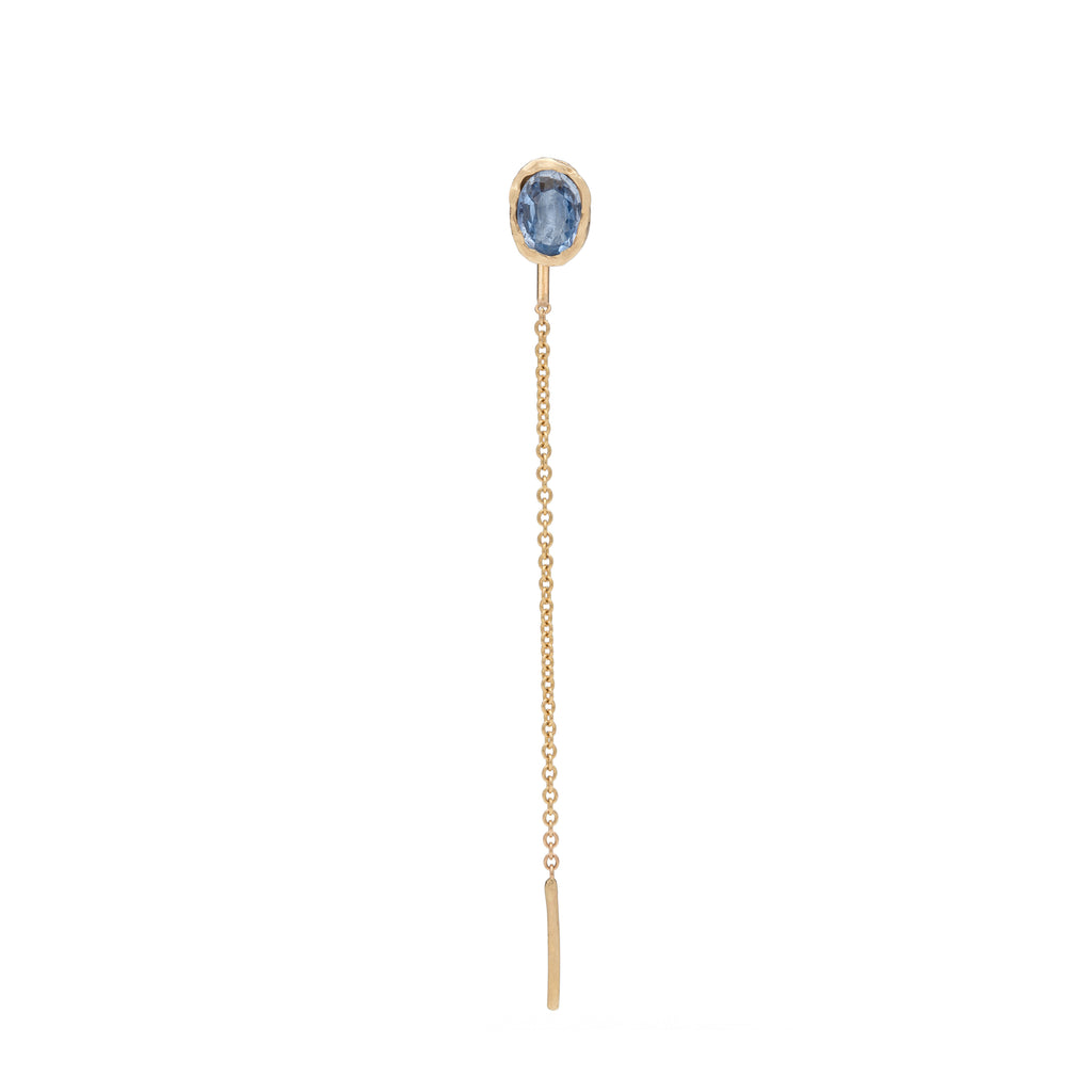 Freja Earring Light Blue Medium