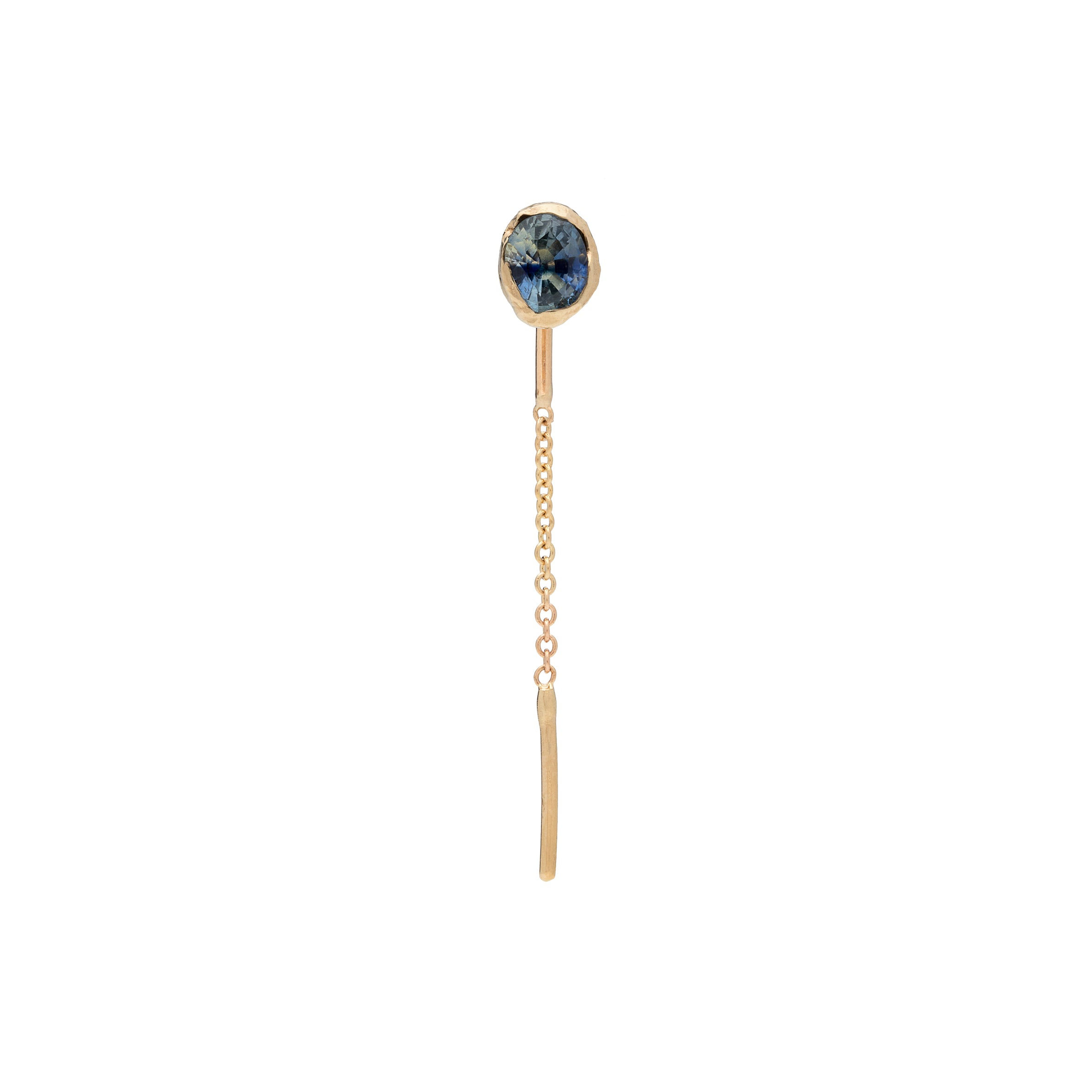 Freja Earring Blue Short