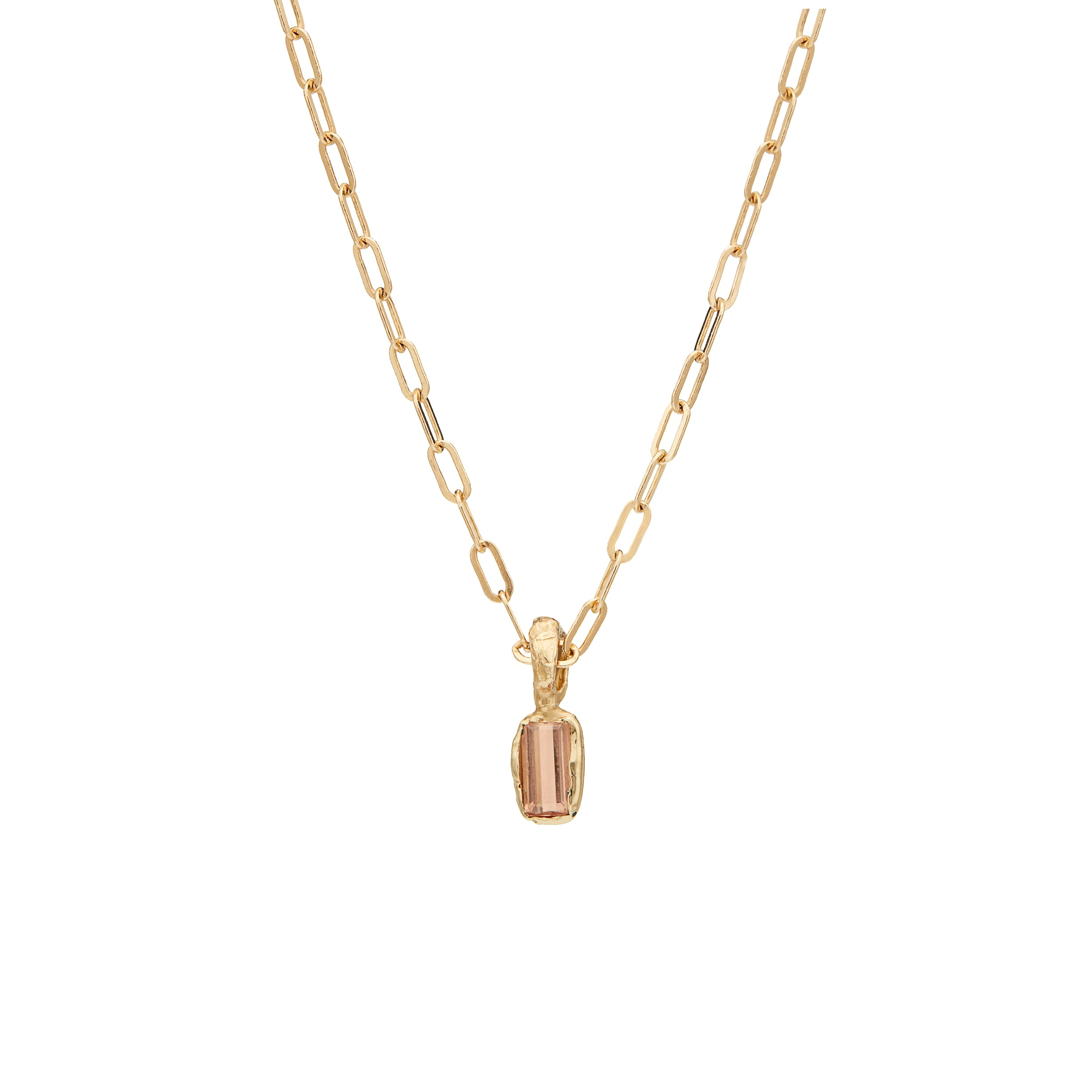 Alfa Necklace light brown