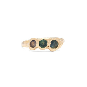 Freja Ring Blue Shades