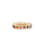 Freja Rainbow Ring, lighter shades