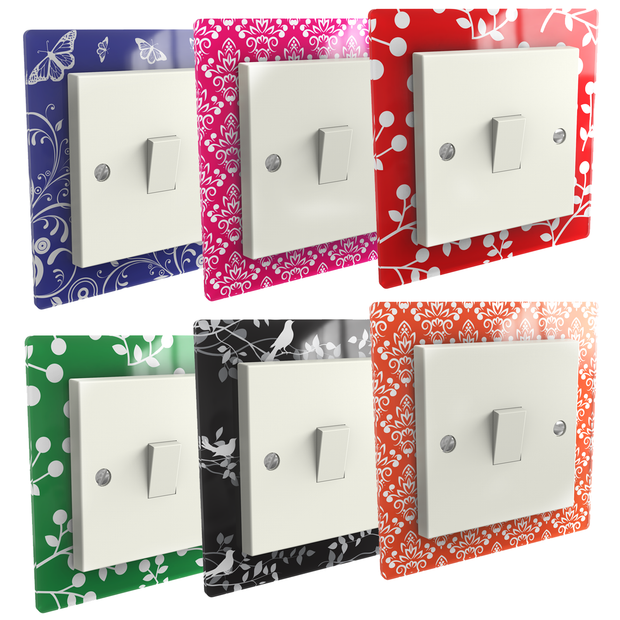 Printed Light Switch Surrounds