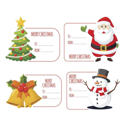 Christmas Labels - Displaypro