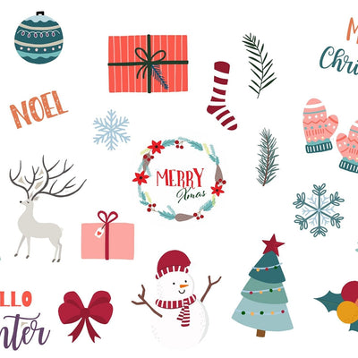 Christmas Stickers - Displaypro