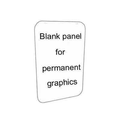 A2 replacement blank sign panel - Displaypro