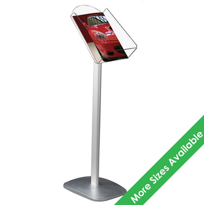 A4 Decorative Floor Standing Brochure Dispenser - Displaypro